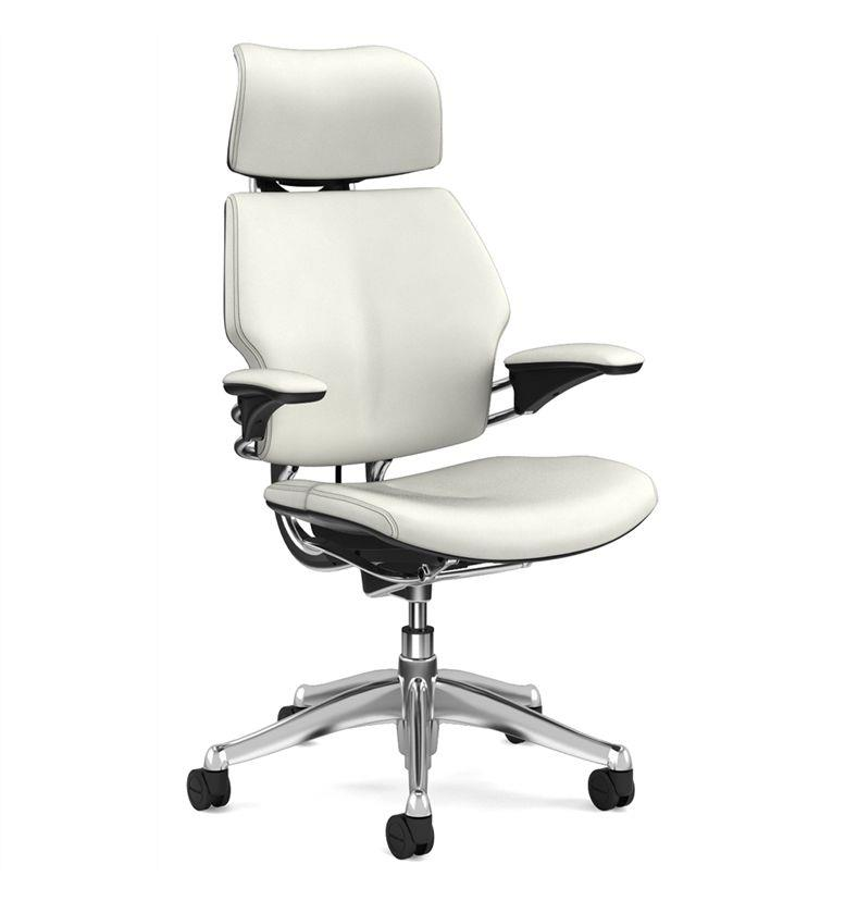 Humanscale polished freedom snow