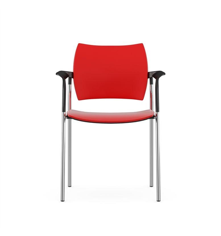 Komac Dream Plastic 4 Leg Armchair