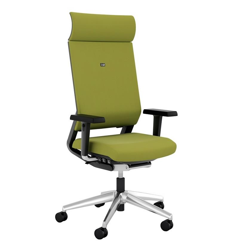Elite i-Sit Upholstered Task Chair with Headrest