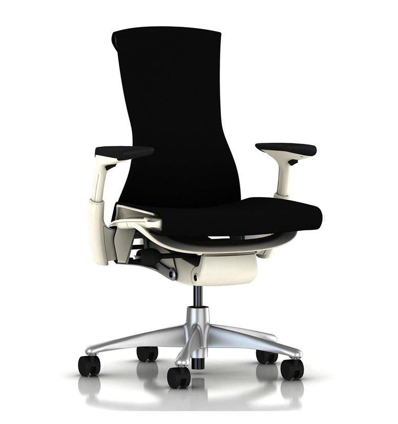 herman miller embody white black rhythm office chairs uk. Black Bedroom Furniture Sets. Home Design Ideas