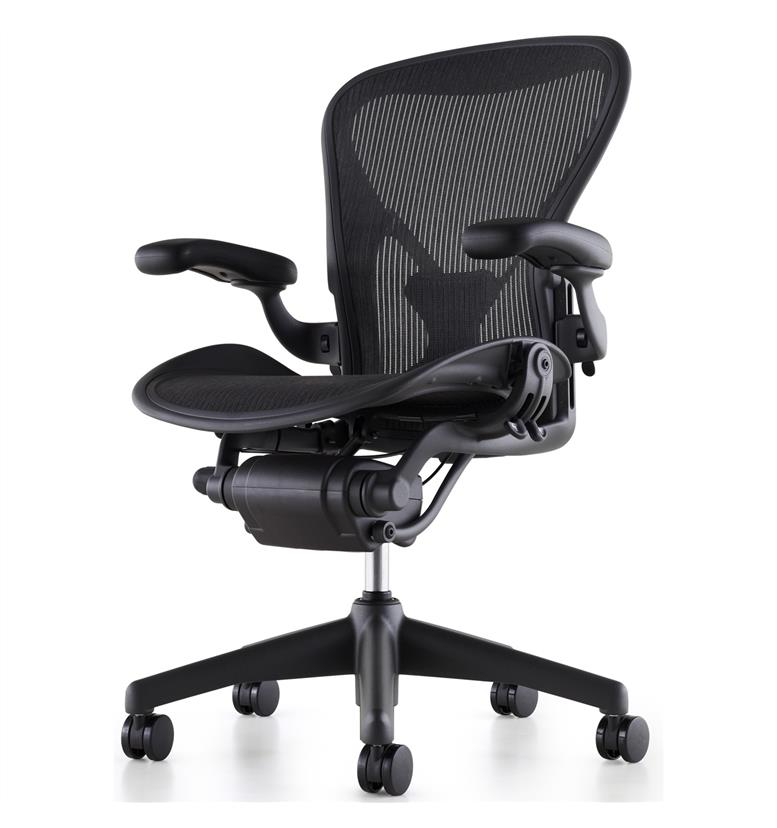 herman miller aeron office chair. Black Bedroom Furniture Sets. Home Design Ideas