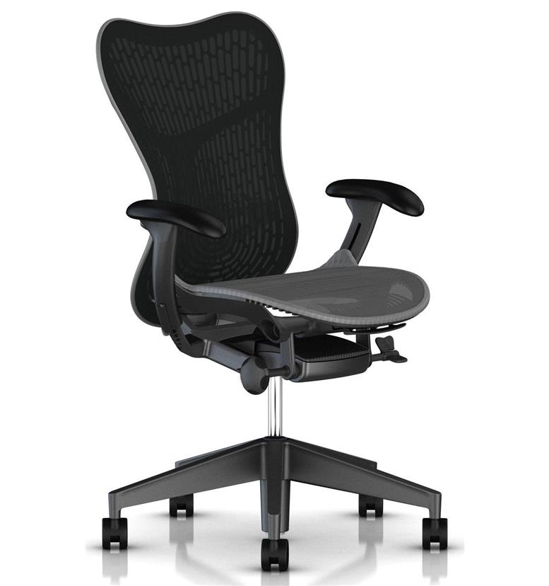 Herman Miller Slate Grey Butterfly