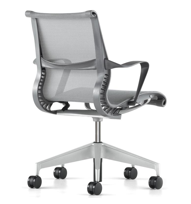 Herman Miller Setu Chair Slate Grey Edition Office Chairs UK