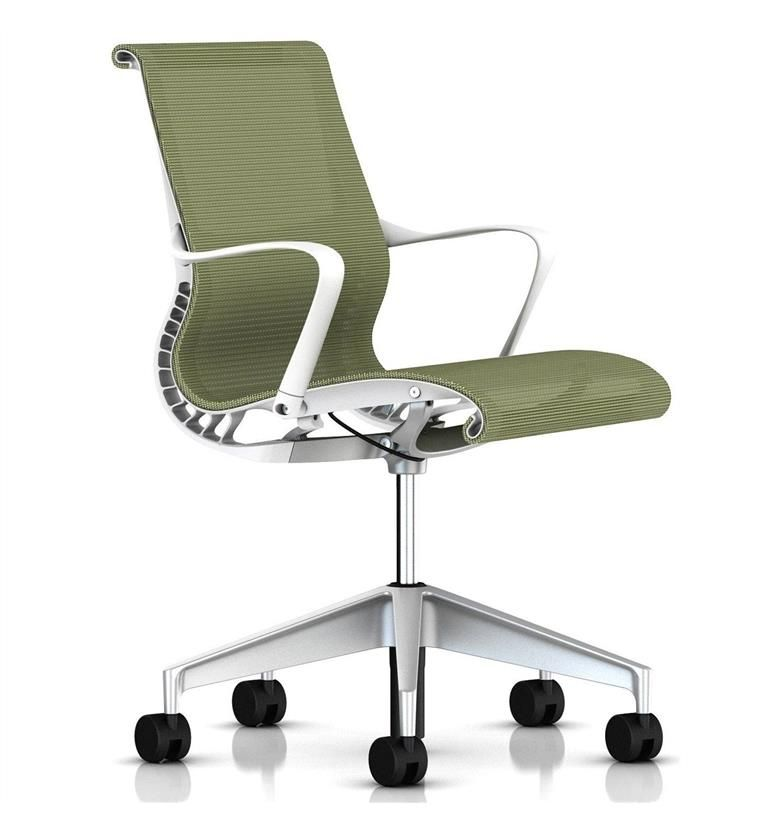 Herman Miller Setu Task Chair Chartreuse Office Chairs UK