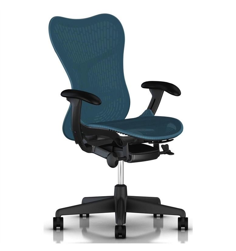 herman miller mirra 2 dark turquoise and graphite
