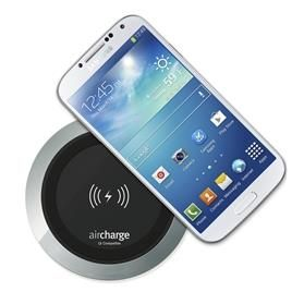 aircharge surface charger black aluminium
