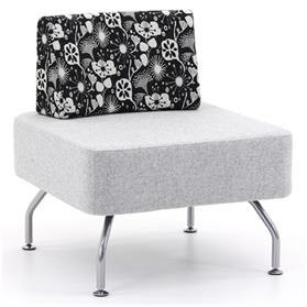 Verco Brix Square Bench with Back