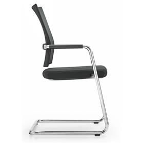 Girsberger Diagon Stackable Cantilever Meeting Chair