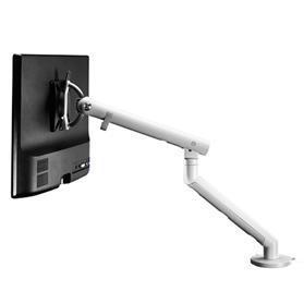 NEXT DAY DELIVERY! CBS Flo Monitor Arm, White with Top Mount Desk Mount