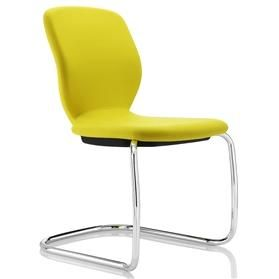 Boss Design Lily Cantilever Visitor Chair No Arms