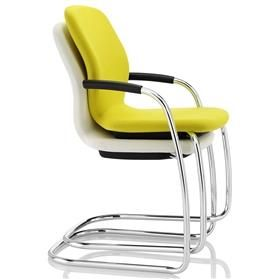 Boss Design Lily Cantilever Stacking Visitor Chairs