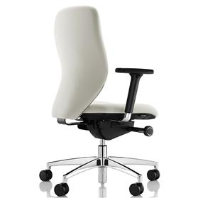 Boss Design Lily Office Chair Polished Base Rear