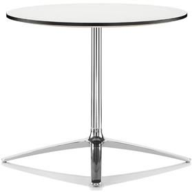 Boss Design Axis 740mm High White Meeting Table