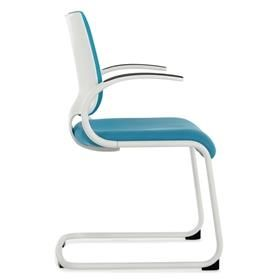 Dauphin InTouch Cantilever Visitor Chair with Arms