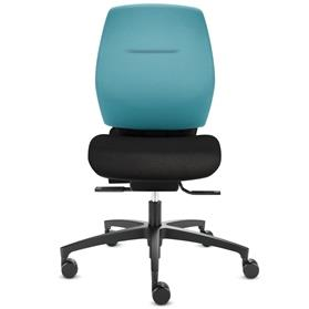 Dauphin Shape Comfort XT Medium Back Office Chair black plastic