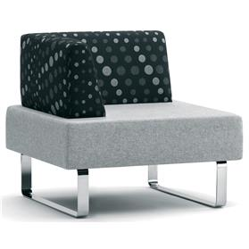 Edge Design Intro SIngle Bench with Right Arm