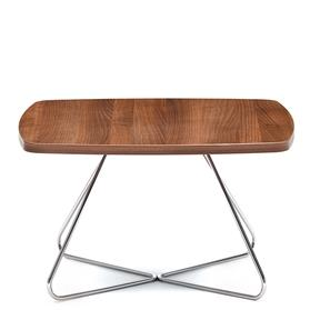 Edge Design Spirit Wooden Top Wire Base table