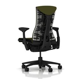 Herman Miller Embody Green Apple Rear