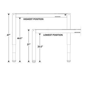 float table dimensions