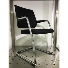 NEXT DAY DELIVERY! Girsberger Connexion Cantilever Chair - Ex Showroom Sample
