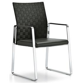 Girsberger Corpo Skid Frame Chair