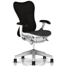 NEXT DAY DELIVERY! Herman Miller Mirra 2 Graphite with White Frame