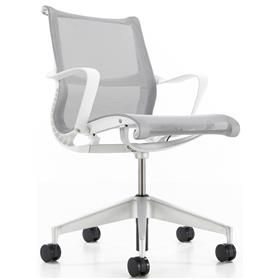 NEXT DAY DELIVERY! Herman Miller Setu Studio White Edition