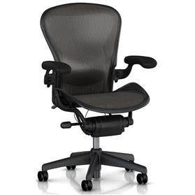 Herman Miller Aeron Size C with Lumbar