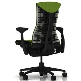 Herman Miller Embody Balance Green Apple Rear