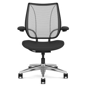 Humanscale Liberty Executive Leather Chair Front