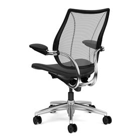 Humanscale Liberty Executive Leather Chair Rear