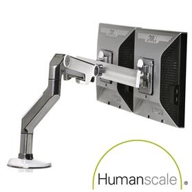 Humanscale M8 Crossbar Monitor Arm Multi Screen