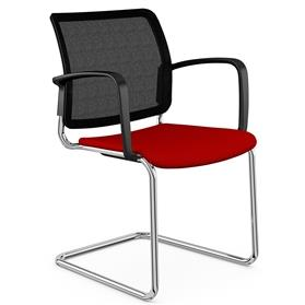 Komac Q Visitor Chair with arms