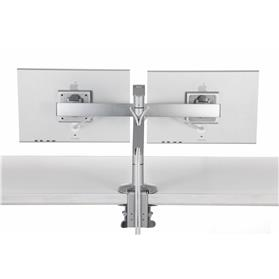 Humanscale M8 Crossbar silver arms