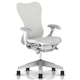 NEXT DAY DELIVERY! Herman Miller Mirra 2 Alpine, White Frame and Fog Base