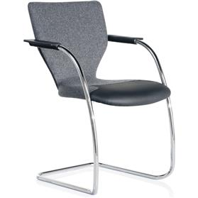 Orangebox X10 Stacking Cantilever Armchair 2