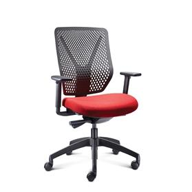 Connection Why R-Type Polymer Back Task Chair