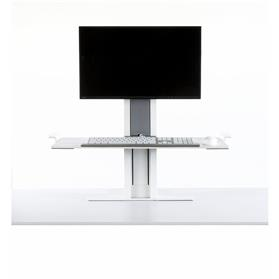 Humanscale QuickStand Light Mount with Large Platform