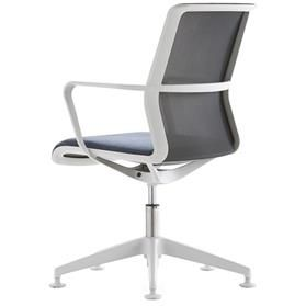 Senator Circo Mesh Back Chair with Glides Back