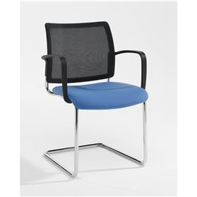 Verco Add Cantilever Mesh Back Chair with Arms