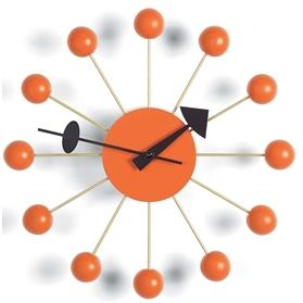 Vitra George Nelson Ball Clock, Orange