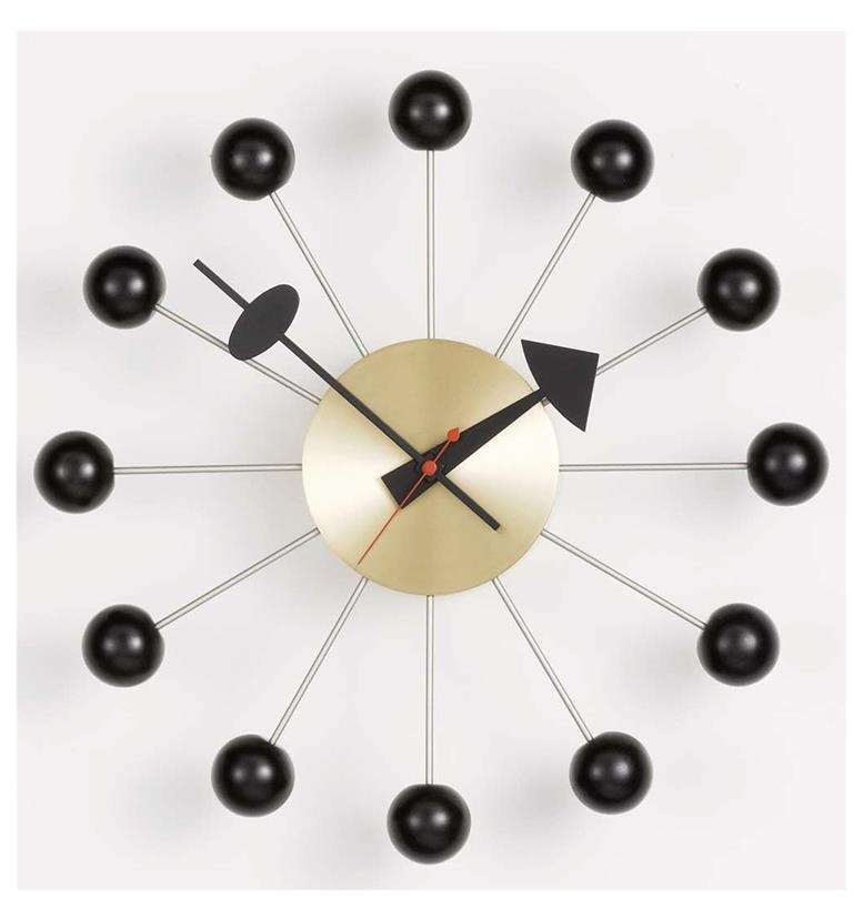 vitra george nelson ball clock 20125006 office chairs uk. Black Bedroom Furniture Sets. Home Design Ideas