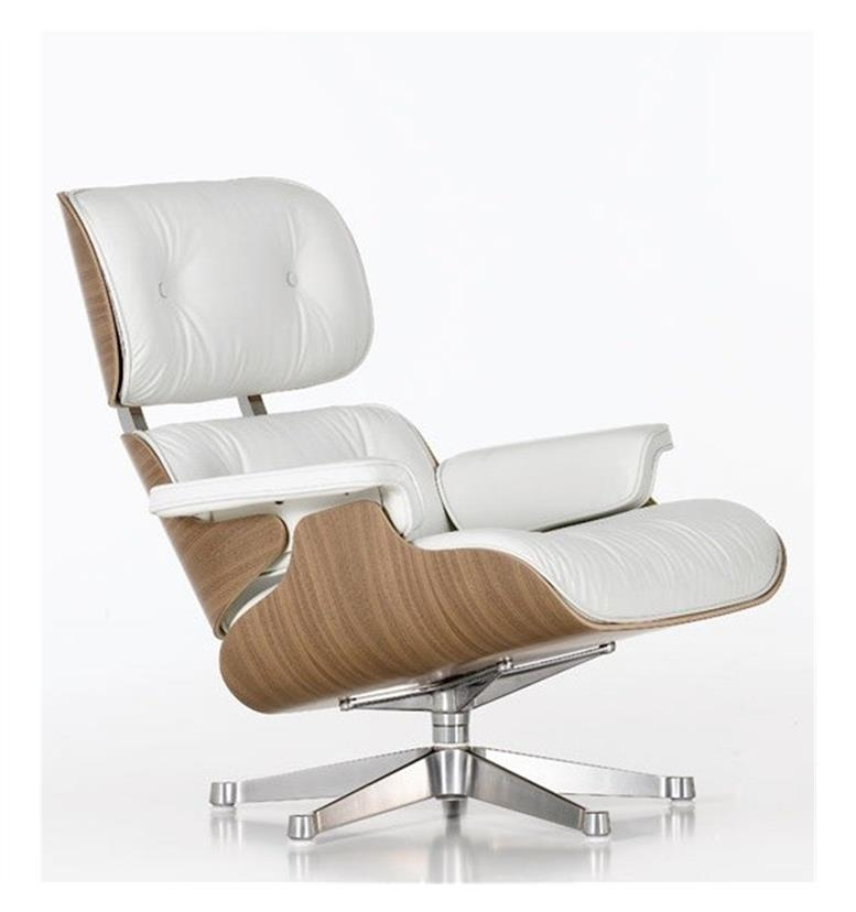vitra eames lounge chair white version 412 094 22 office chairs uk