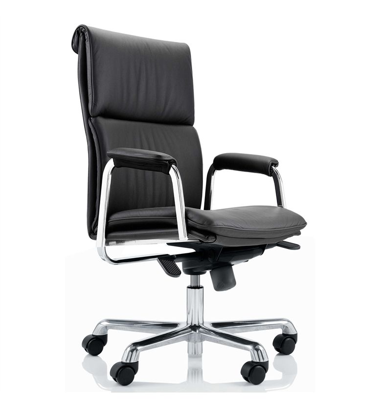 boss design delphi high back leather executive office chair