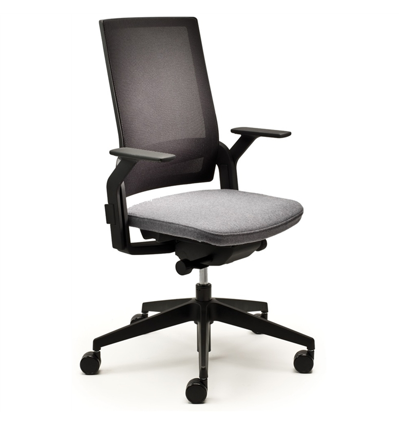 Senator Ecoflex Task Chair : SenatorKolbergp33 Brown Fabric <strong>Armless Desk Chair</strong> from www.officechairsuk.co.uk size 777 x 828 jpeg 135kB