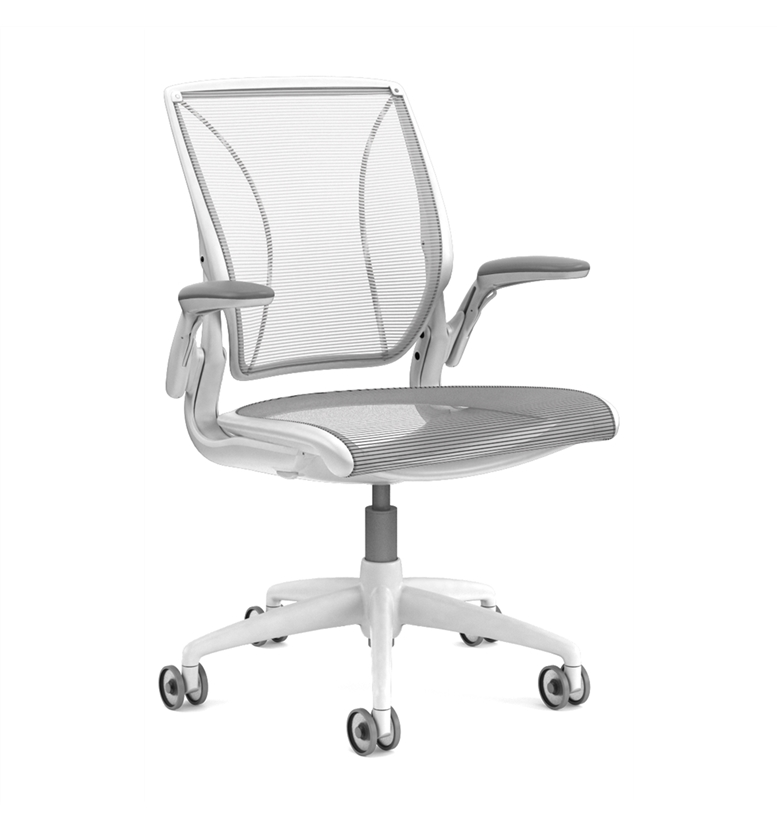 humanscale diffrient world chair white - office chairs uk