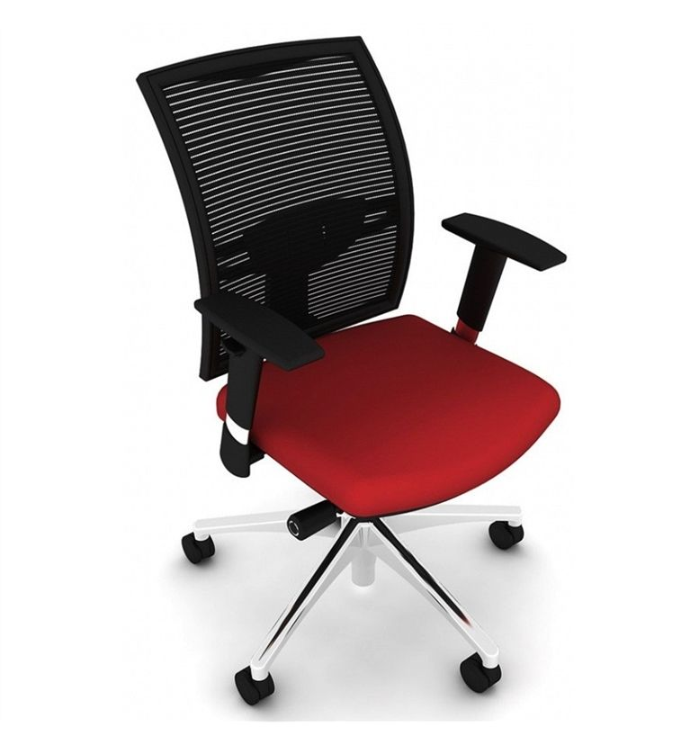 Loreto Swivel Office Chair Fabric Selected Colour Free Standard Uk