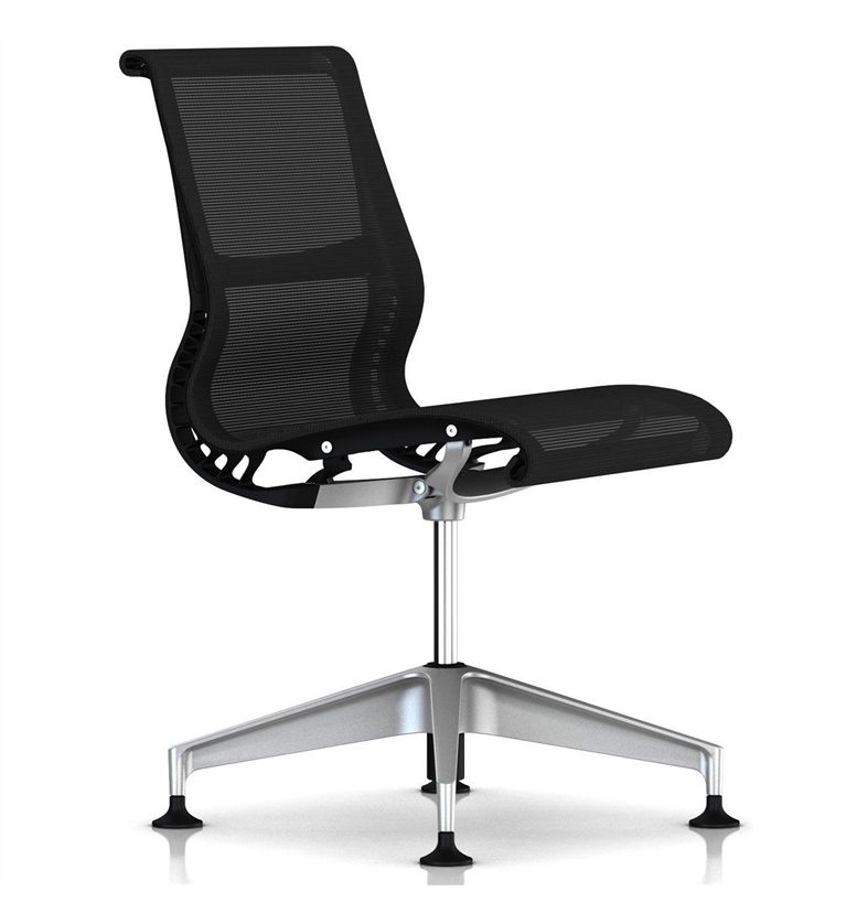 Herman Miller Setu Meeting Chair 4 Star Base With Glides