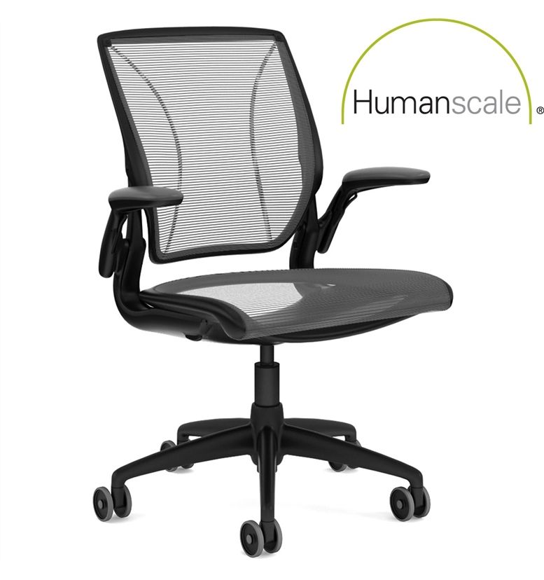 Humanscale Diffrient World Chair Black Edition 10 Year Guarantee