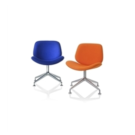 Orangebox Track Swivel Work Chair Polished QUICK SHIP